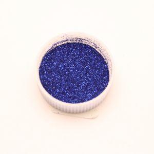 """Глиттер(блестки) 0,1мм(1/256""""), баночка 20мл, цвет: синий (1уп = 10баночек)"""