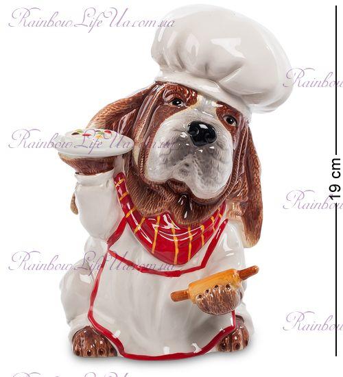 """Копилка собака шеф - повар """"Pavone"""""""