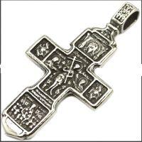 Православный крест Житие Святых - оборотная сторона