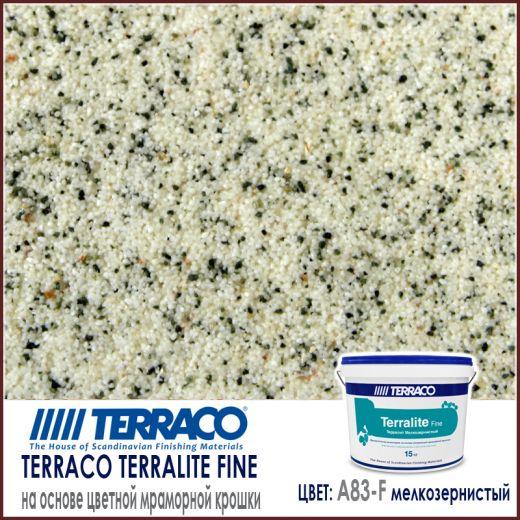 Terralite fine (мелкозернистый) цвет A83-F