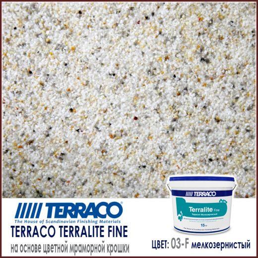 Terralite fine (мелкозернистый) цвет 03-F