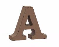Объемная буква A