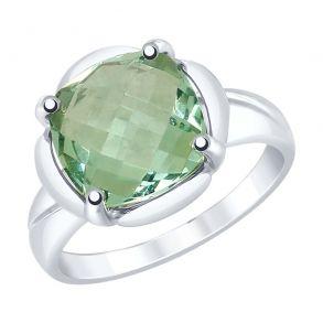 Кольцо из серебра с кварцем 92011780 SOKOLOV