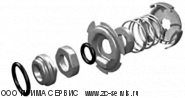 Грюндфос  kit, coupling complete D14/D16 00339114