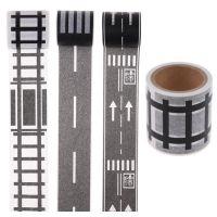 Игровой скотч с дорожной разметкой Умная железная дорога (1)