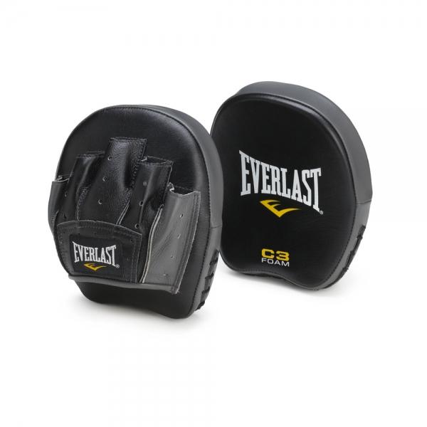 Лапа боксерская Everlast Precision чёрная,  артикул 701101