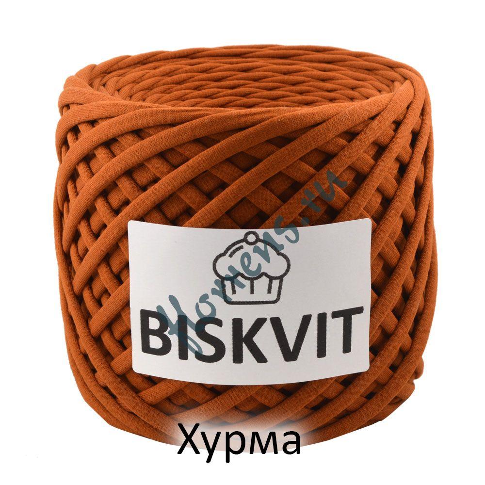 Трикотажная пряжа Biskvit / Хурма