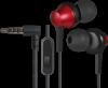 Акция!!! Гарнитура для смартфонов Pulse 470 черный+красный, вставки
