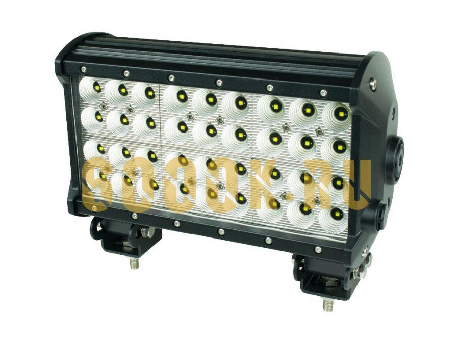Четырехрядная светодиодная LED балка 108W CREE ближнего света