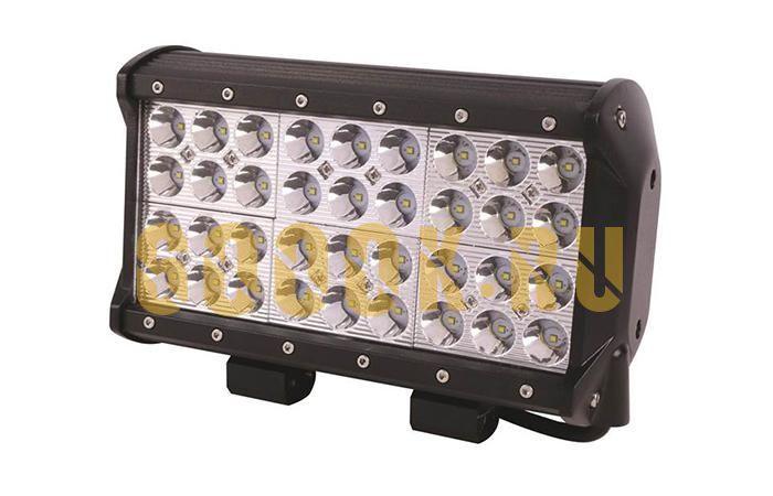 Четырехрядная светодиодная LED балка 108W CREE дальнего света