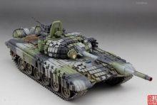 Сборная модель Российский основной танк с активной броней Т-72Б