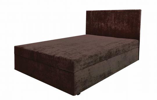 Тахта-кровать с матрасом Атланта коричневая