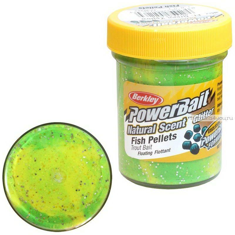 Паста форелевая Berkley Fl. Green Yellow ( Пелец, зелено-желтый )