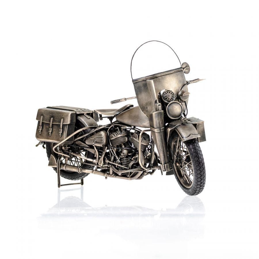 ДИОРАМА Harley Davidson WLA-42 19
