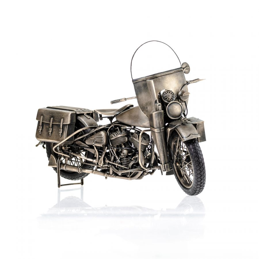"Мотоцикл ""Harley Davidson WLA-42"" 1/9 Military"