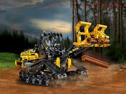 Конструктор LARI Technica  Гусеничный погрузчик 11300 (Аналог LEGO Technic 42094) 827 дет