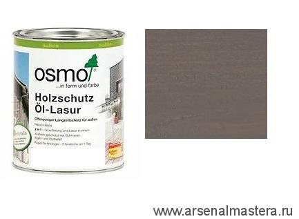 Защитное масло-лазурь для древесины для наружных работ OSMO Holzschutz Ol-Lasur 905 Патина 0,125 л
