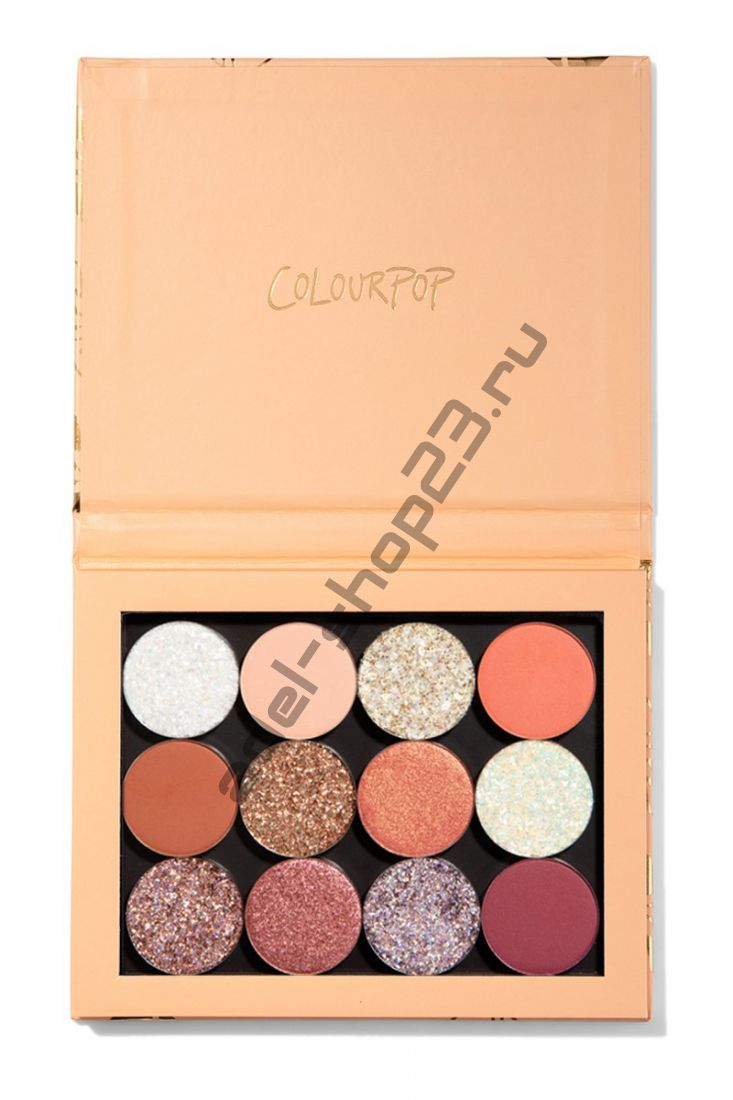 Colourpop - тени для век pretty please