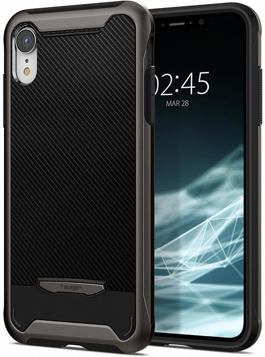 Чехол SGP Spigen Neo Hybrid NX для iPhone XR стальной