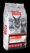 Blitz Adult Cats сухой корм для взрослых кошек «Индейка» 10 кг