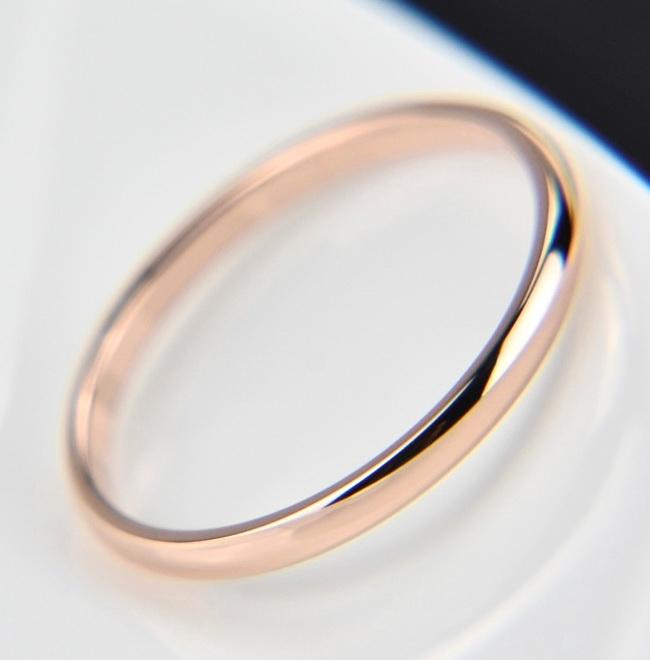 Обручальное кольцо 3 мм