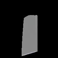 Шторка на ванну BAS Screen R-80-C-CH