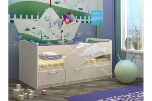 """Кровать """"Дельфин-5"""" (борт универсальный)"""