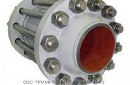 Клапан обратный 19лс38нж Ду100 Ру40 стяжной  межфланцевый