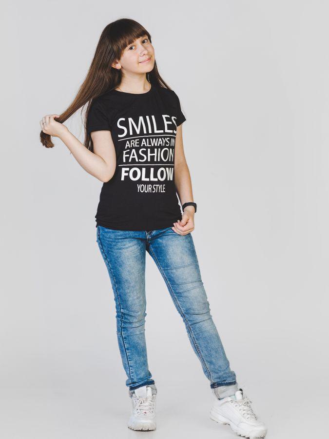 Smilesfashion футболка женская