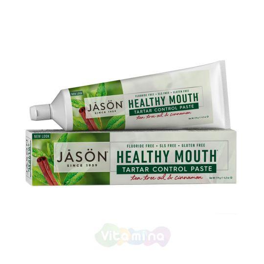 Jason Зубная паста «Чайное дерево» Healthy Mouth Tartar Control