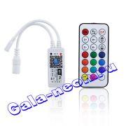 Wi-Fi RGBW Контроллер 9-28В беспроводной Телефон App управления+Пульт 16A