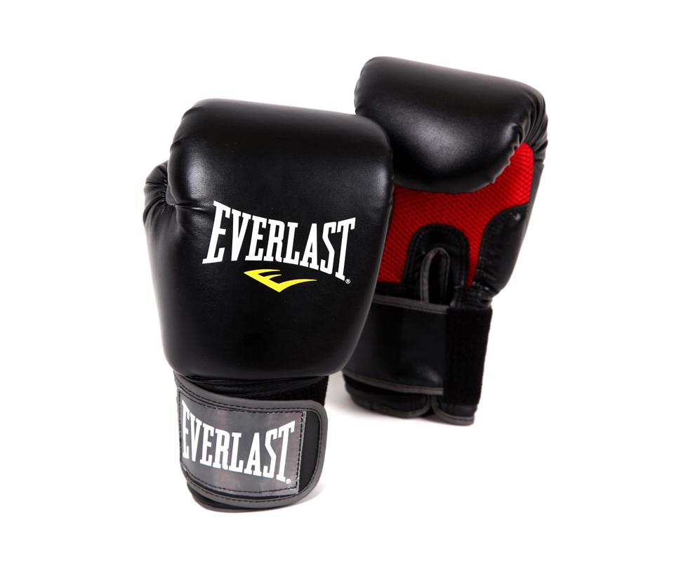 Перчатки Everlast  Pro Style Muay Thai 12oz черные, артикул 7012