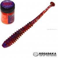 Мягкие приманки Kosadaka Array Fat 65 мм / упаковка 10 шт / Сыр / цвет: RB