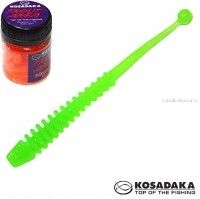 Мягкие приманки Kosadaka Array 65 мм / упаковка 10 шт / Сыр / цвет: FG