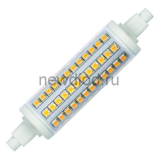 Лампа светодиодная LED-J118-12W/WW/R7s/CL PLZ06WH 3000К прозрачная ТМ Uniel