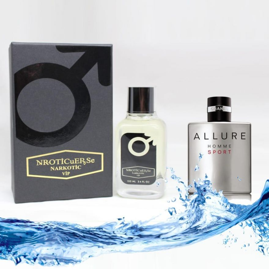 """NROTICuERSe (Chanel """"Allure Homme Sport"""") 100 ml"""