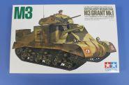 Английский средний танк M3 GRANT  с одной фигурой.