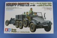 Krupp Protze 1ton (6[4) Kfz.69 Towing Truck with 3,7cm Pak New