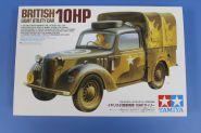 1/35 Английский автомобиль Light Utility Car 10hp (Tilly), с фигурой водителя, внутренним интерьером и двигателем