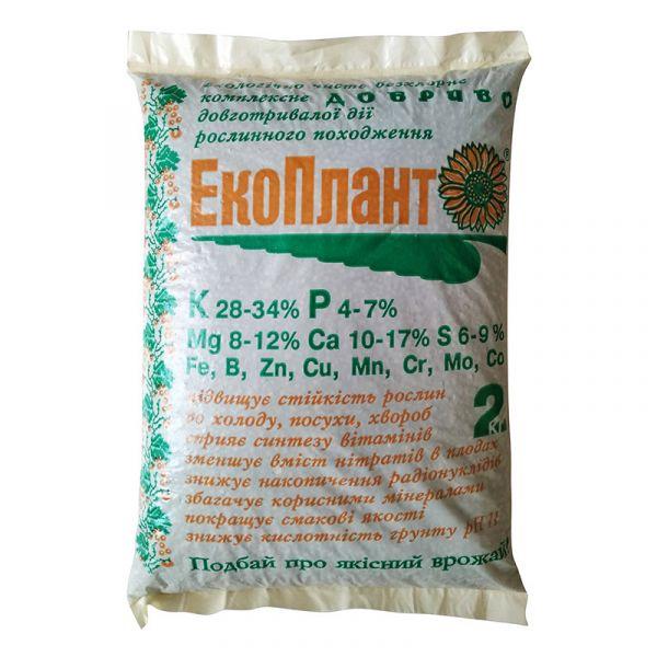 """Экологичное удобрение """"Экоплант"""" (2/5/40 кг)"""