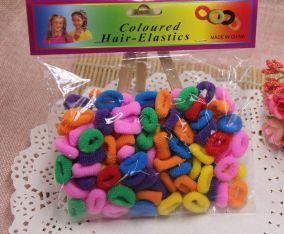 Набор резинок для волос (в пакете), 100 штук