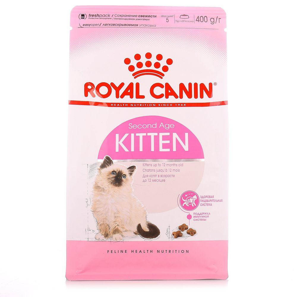 Корм сухой Royal Canin Kitten для котят до 12 месяцев с птицей