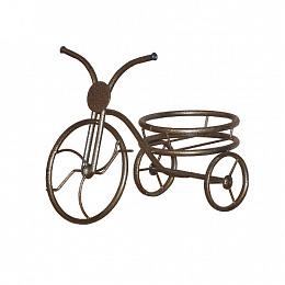 Подставка для цветов Велосипед на 1 горшок
