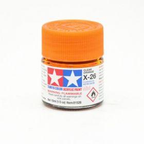 Х-26 Clear Orange (Прозр. оранжевая) крас.акр.10мл