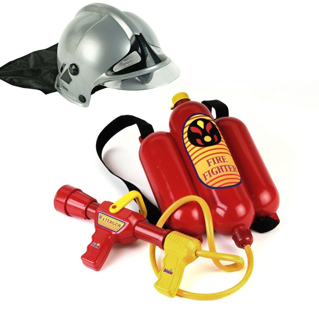 Набор пожарного со шлемом детский Klein 8932