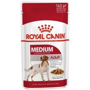Консервы Royal Canin кусочки в соусе для собак средних пород 140 г