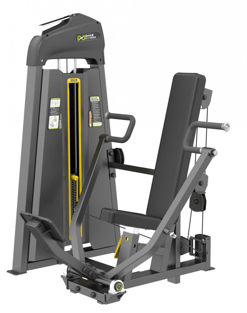 E-3008 Жим от груди вертикальный (Vertical Press). Стек 109 кг.