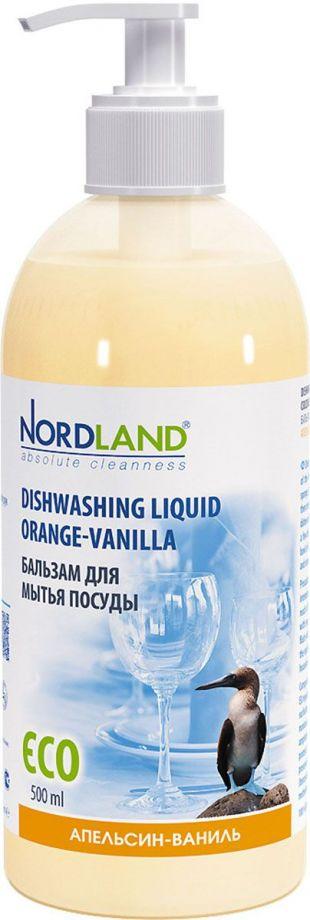 Nordland Бальзам для мытья посуды Апельсин-Ваниль 500 мл