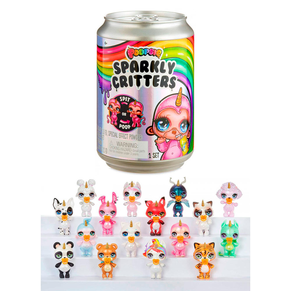 Питомец Poopsie Sparkly Critters