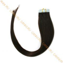 Натуральные волосы на липучках №002 (45 см)